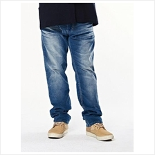 Blue Regular Corduroy Jeans