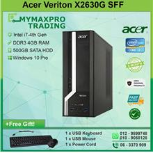 Acer Veriton X2630G SFF Intel Core i7-4th Gen 4GB RAM 500GB HDD W10P
