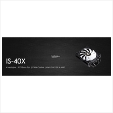 # ID-COOLING IS-40X Low Profile CPU Air Cooler #