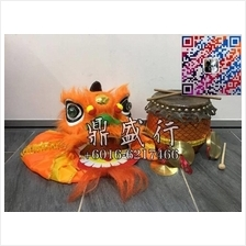 Children Lion Dance Head Set Chinese Traditional Training Performance