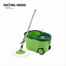 Spin Mop with Stainless Steel Basket - LJD-010
