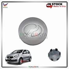 Perodua Myvi Bezza Alza (NEW) Sport Rim Center Wheel Cap Cover SILVER