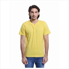 Jazz & Co Men Standard Size yellow short sleeve tee