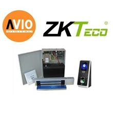 ZK Software MULTIBIO800 Face Recognition Door Access with Backup Batte