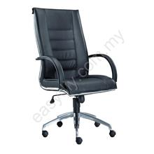 Leather / Fabric Office Chair / Bossi High Back Chair E 1071H
