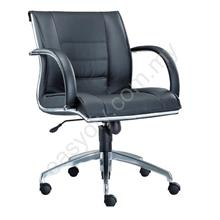 Leather /  Fabric Office Chair / Bossi Office Chair E 1073H