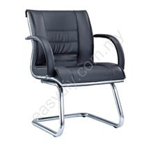 Leather / Fabric Office Chair / Bossi Visitor Office Chair E 1074S