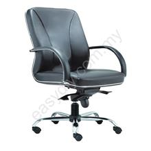 Leather / Fabric Office Chair / Supreme Medium Back Chair E 2212H