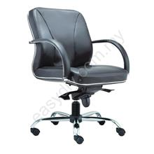 Leather /  Fabric Office Chair / Supreme Low Back Chair E 2213H
