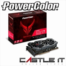 POWER COLOR RX 5600 XT ATI 6GB GDDR6 192BIT RED DEVIL RX 5600XT Graphi