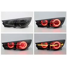 Mazda 3 15- Skyactiv Sedan Smoke Light Bar LED Tail Lamp