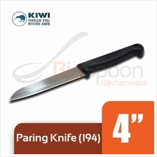 KIWI 4 inch Stainless Steel Paring Knife With Plastic Handle [194]