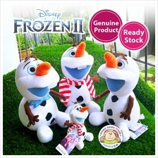 Genuine Disney Frozen 2 Bowtie Scarf Olaf Bag Chain Soft Plush Toy Dol