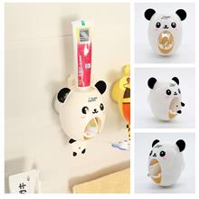 【READY STOCK MY】Panda Auto Toothpaste Strong Dispenser Hook