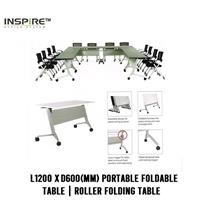 L1200 x D600(mm) FLICK-I Portable Foldable Table|Roller Folding Table
