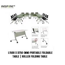 L1500 x D750(mm) FLICK-I Portable Foldable Table|Roller Folding Table
