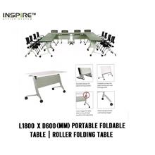 L1800 x D600(mm) FLICK-I Portable Foldable Table|Roller Folding Table