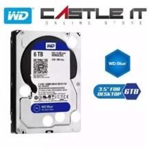 Western Digital WD Caviar Blue 1TB/2TB/3TB/4TB/6TB Internal HDD SATA