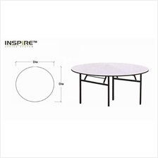 L1800 x D1800(mm) Round Banquet Folding/Foldable Table (25mm)