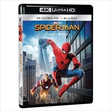 English Movie Spider-Man Homecoming 4K Ultra HD + Bluray