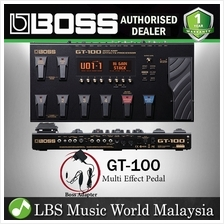 Boss GT-100 Guitar Multi Effect Pedal Processor with Original Adapter (GT100 G