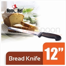 HOMCHEF 12 inch Bread Knife Stainless Steel [S-1511-12]