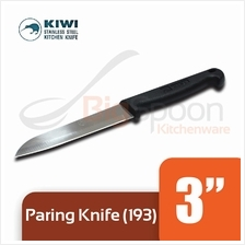 KIWI Paring Knife With Plastic Handle 3 inch [193]