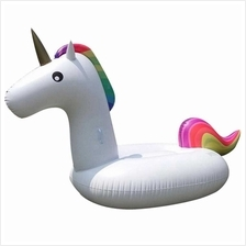 2.75 * 1.3 * 1.2m Giant Inflatable Unicorn Pool Swimming Raft (Standard)