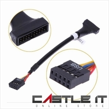 Converter Cable USB 2.0 to USB 3.0 for Motherboard USB3 Casing USB2 Mo