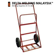 Gas Double Cylinder Welding Trolley -Large size