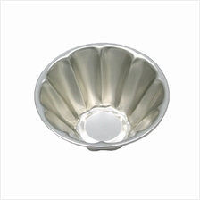 Pudding Jelly Cup Stainless Steel 100% Original Japan - Design B