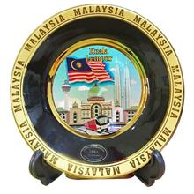 KL City Souvenir Iconic City Ceramic Plate Gift Decoration Memorable
