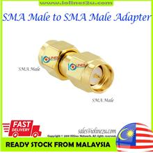 SMA Male to SMA Male adapter Converter Gender Changer High Quality Malaysia Re