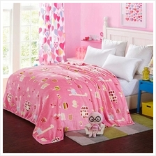 Flannel Polar-fleece Blanket of High Quality Polyester Fiber Soft and