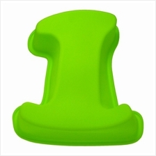 BAKECRAFT Silicone Cake Mould Number 1 - Green