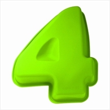 BAKECRAFT Silicone Cake Mould Number 4 - Green