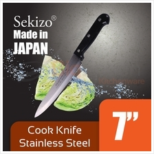 SEKIZO 7 inch Cooking Knife Stainless Steel for Home  & Kitchen