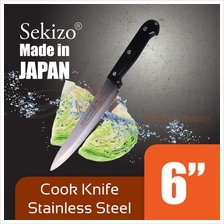 SEKIZO 6 inch Cooking Knife Stainless Steel for Home  & Kitchen
