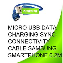 Micro USB Data Charging Sync Cable Powerband Smartphone 0.2m