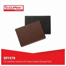 CLiPtec THE DEXIGNER Leather Mouse Pad RZY278)
