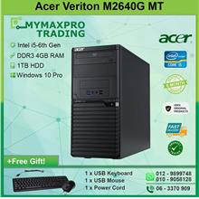 Acer Veriton M2640G Desktop MT i5 6th Gen 4GB DDR3 1TB HDD CPU W10P