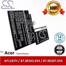Original CS Tablet Battery ACW500SL Acer Iconia Tab W501 Battery
