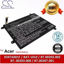 Original CS Tablet Battery ACT500SL Acer Iconia Tablet A500 Battery