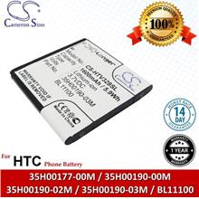 Original CS Phone Battery HTV328SL 35H00190-02M 35H00190-03M HTC T329D