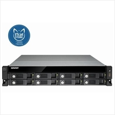 NEW QNAP ECONOMICAL RAID NAS EXPANSION ENCLOSURE -3YW(UX-800U-RP)