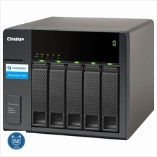 NEW QNAP THUNDERBOLT STORAGE NAS EXPANSION ENCLOSURE-2YW (TX-500P)