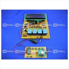 HT385 4 Channels RF Remote Controller (Individual,LCD)/Electronics Kit