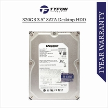 Mix Branded 320GB 3.5 ' SATA Desktop PC Computer Hard Disk Drive HDD
