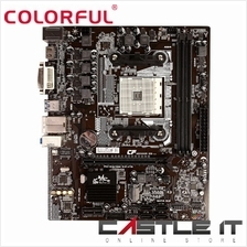 COLORFUL AB350M HD PLUS BATTLE AXE AMD AM4 Motherboard (C.AB350M)