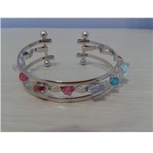 J0021 BANGLE - COLOURFUL BEADS